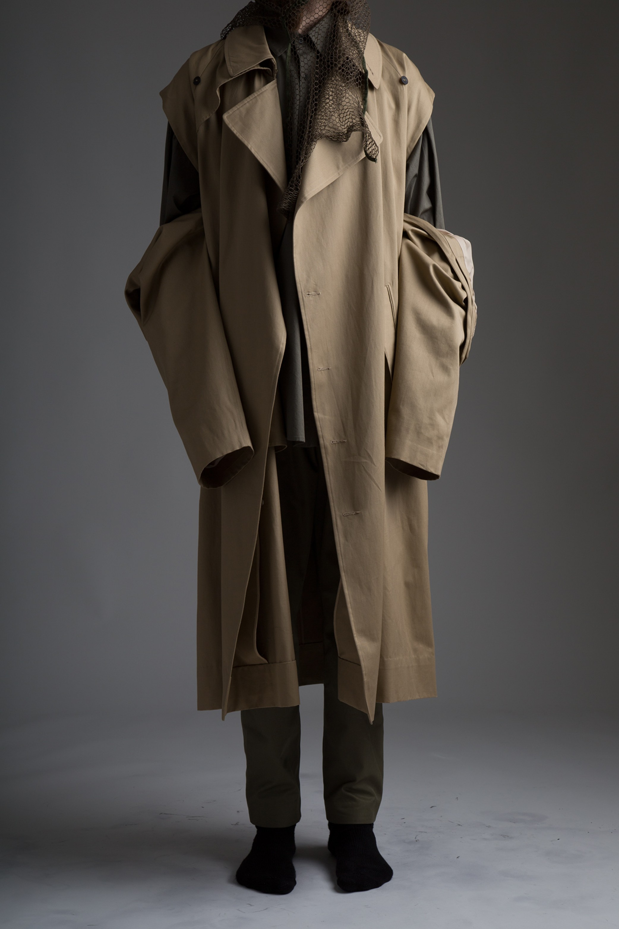 Hed Mayner Trench Coat