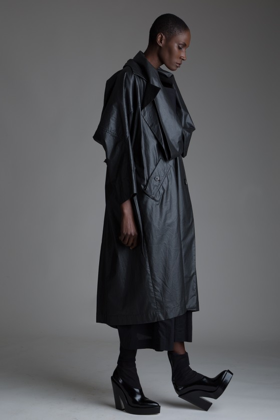 Vintage Issey Miyake Coated Trench