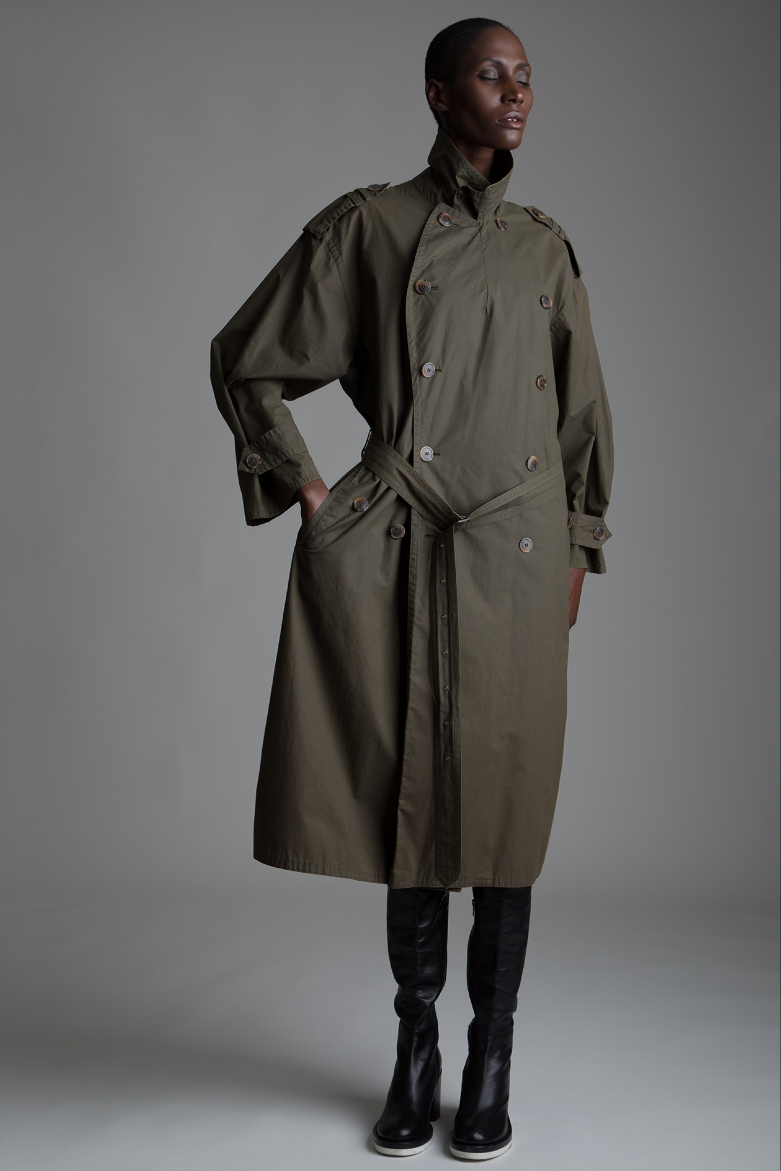 Vintage Hugo Boss Trench Coat