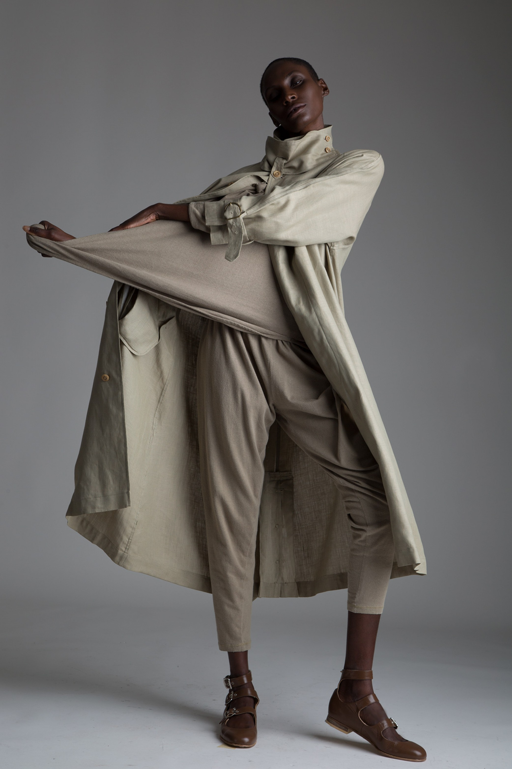 Vintage Issey Miyake Plantation Outfit