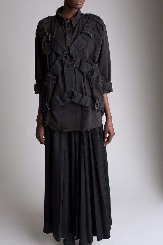 Miguel Adrover Pleated Skirt