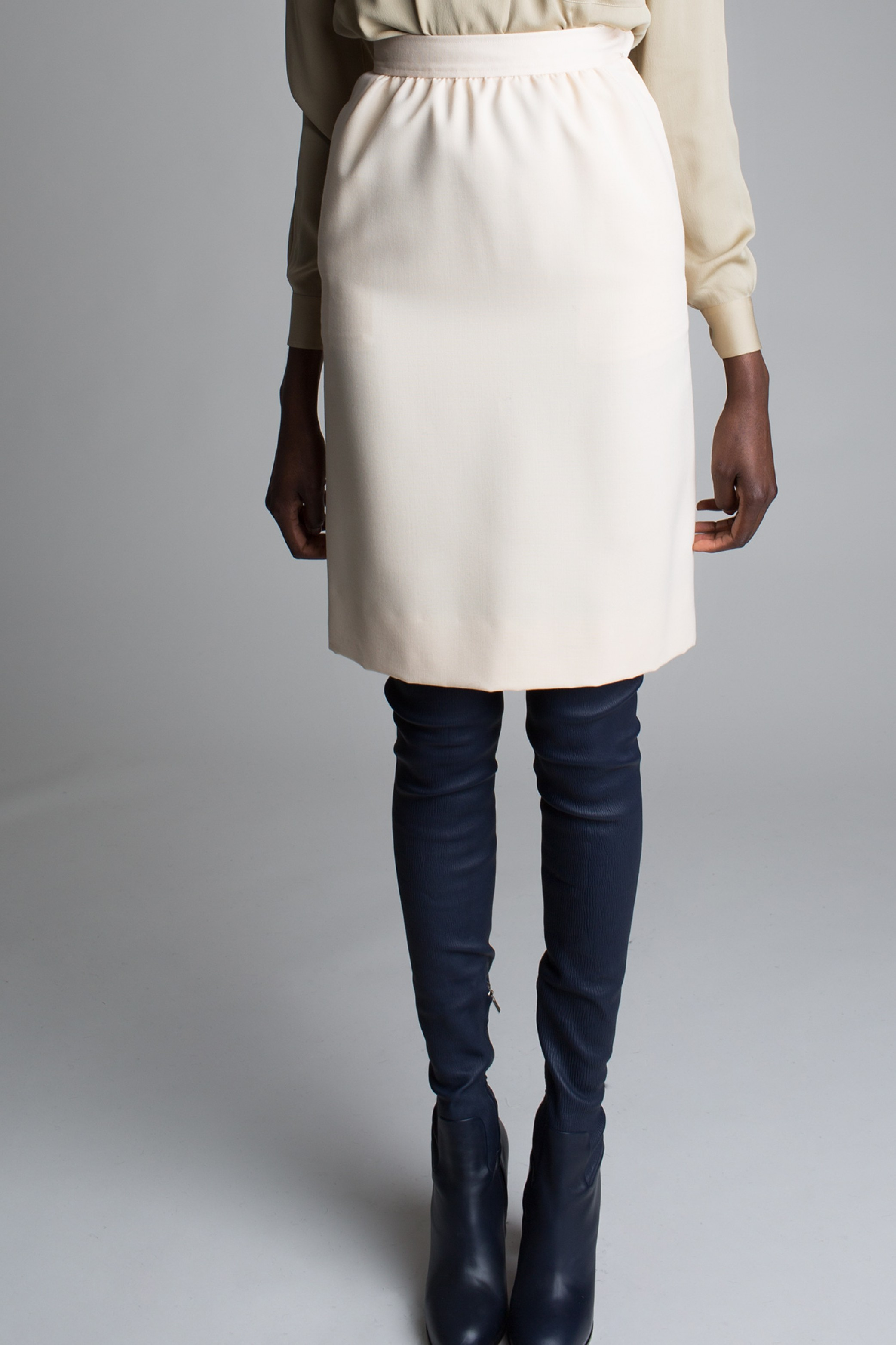 c22c8863181c Vintage Yves Saint Laurent Pencil Skirt ...