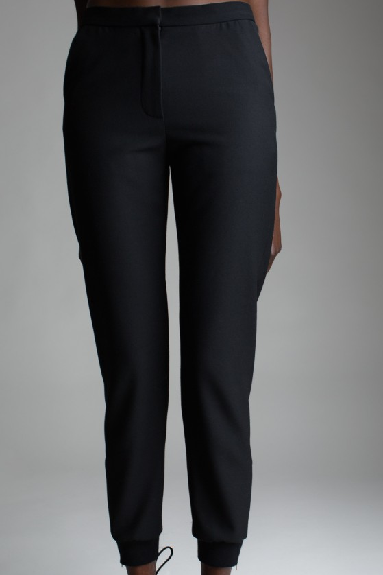 Chloe Black Track Pants