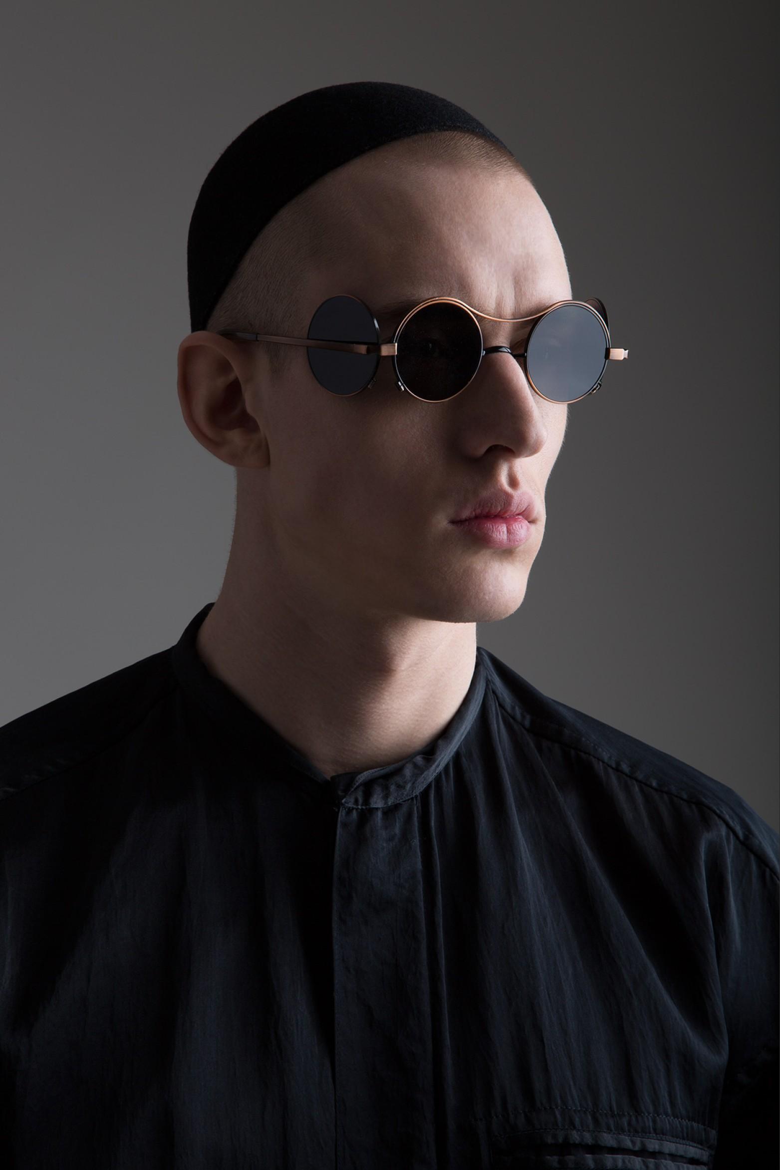 Vintage Jean Paul Gaultier Round Sunglasses