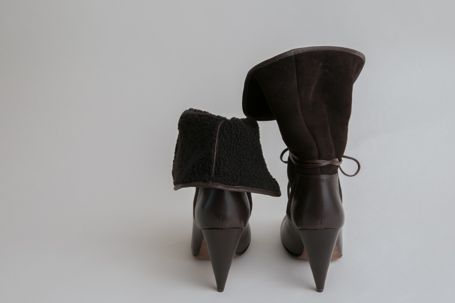 Christophe Lemaire Shearling Ankle Boots