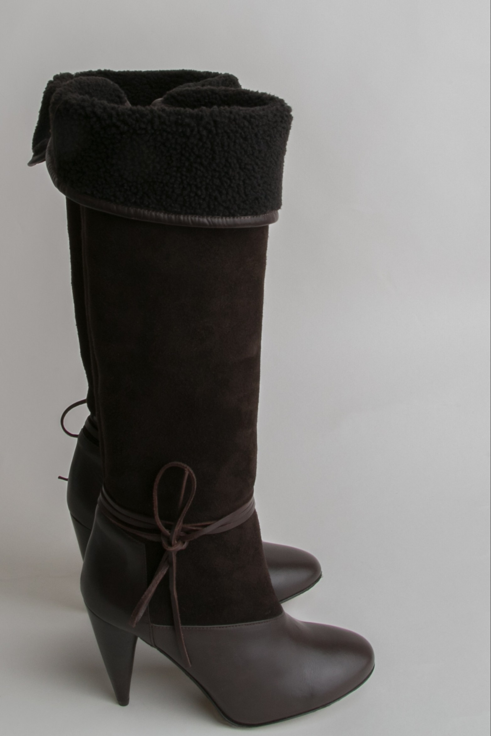 Christophe Lemaire Shearling Boots