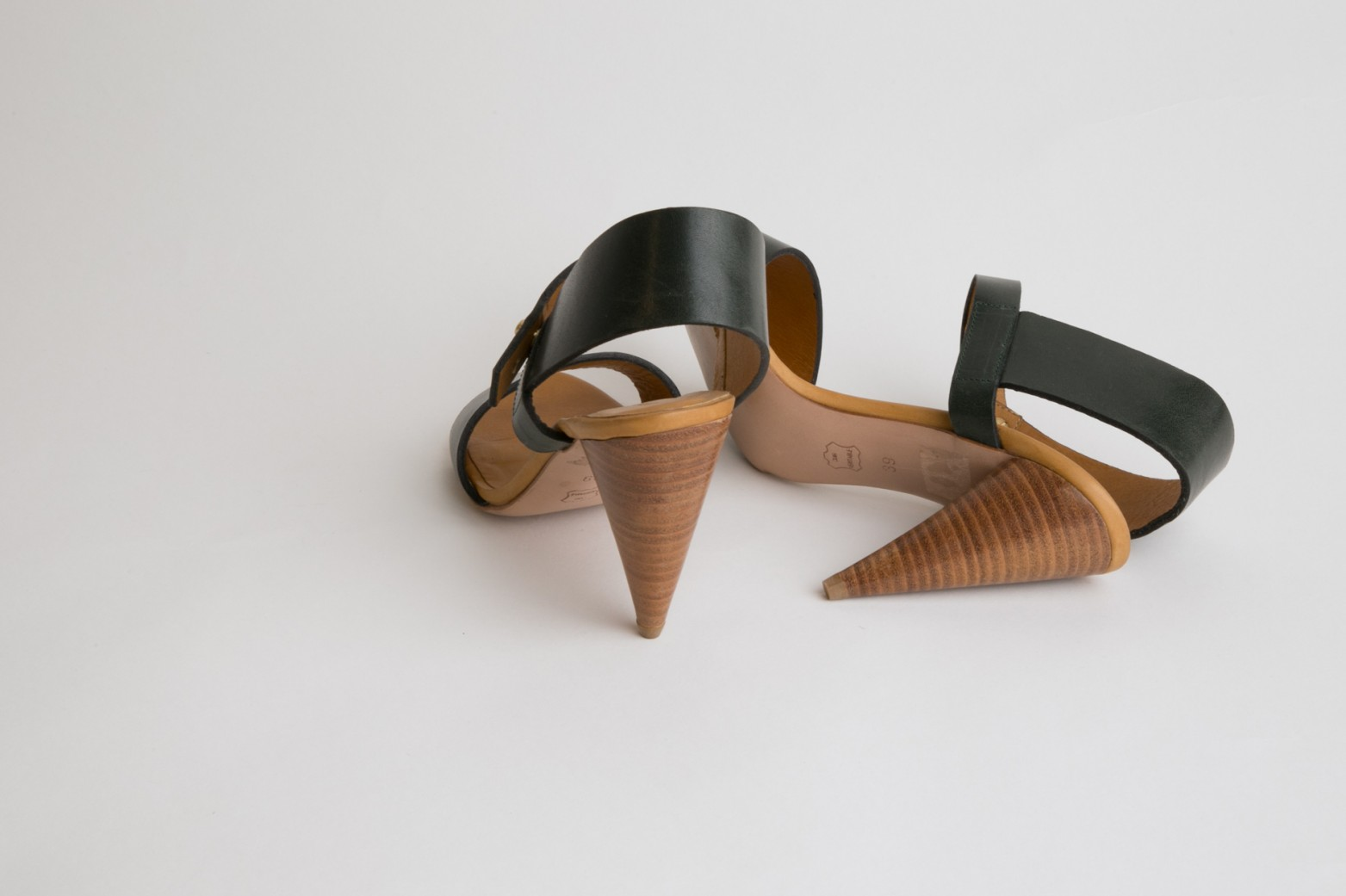 Christophe Lemaire Leather Sandals