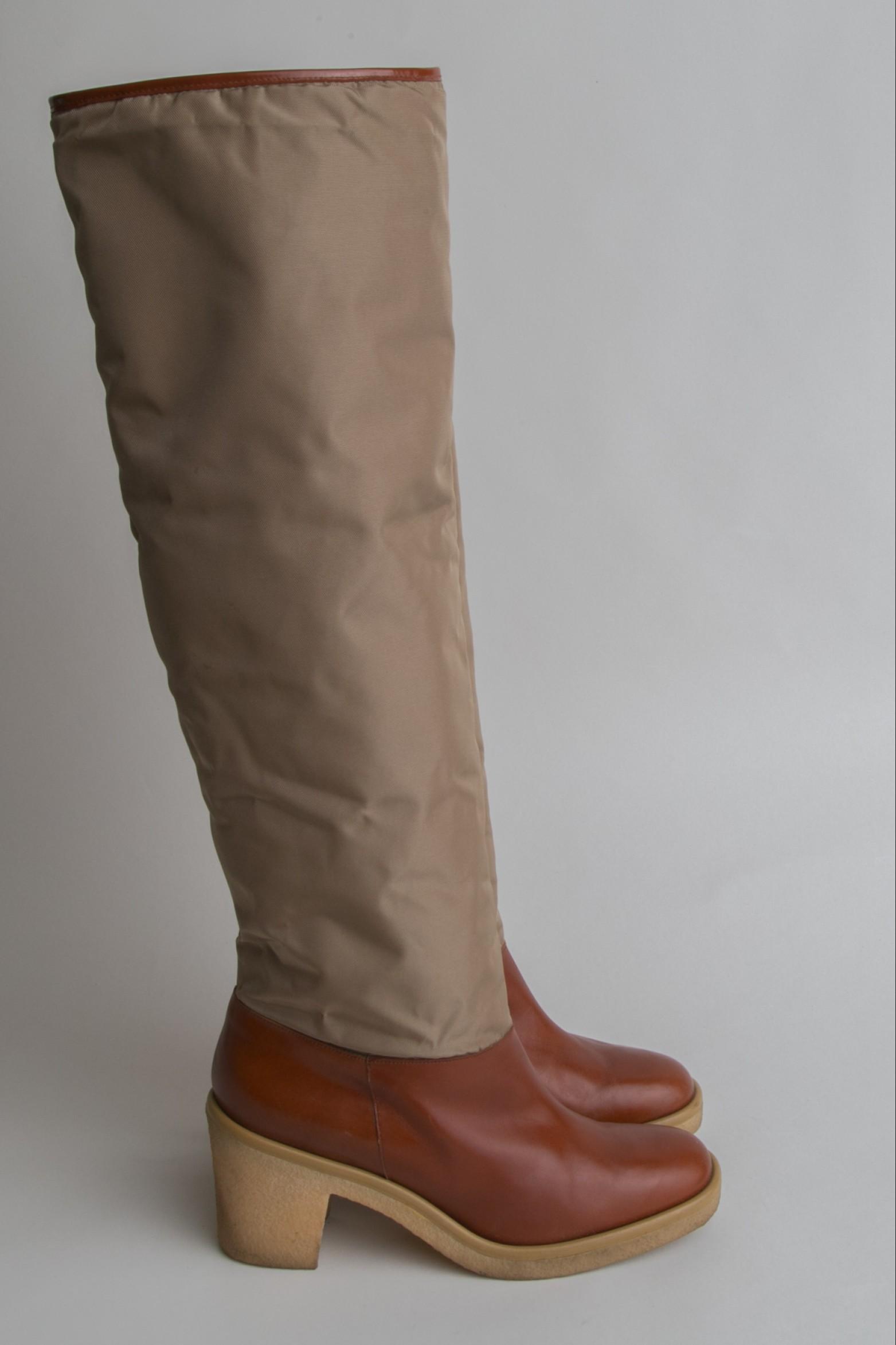 Vintage Xavier Danaud Knee-High Boots