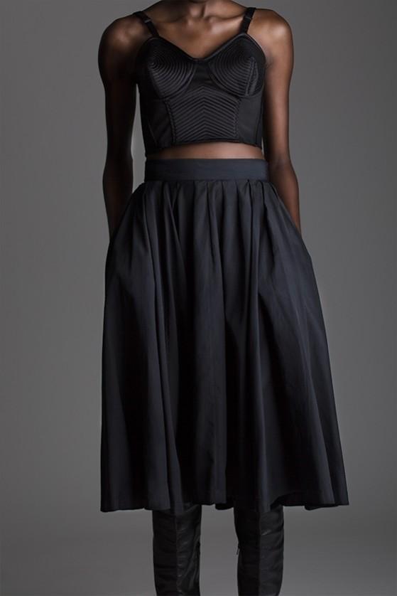 Vintage Yohji Yamamoto Pleated Skirt