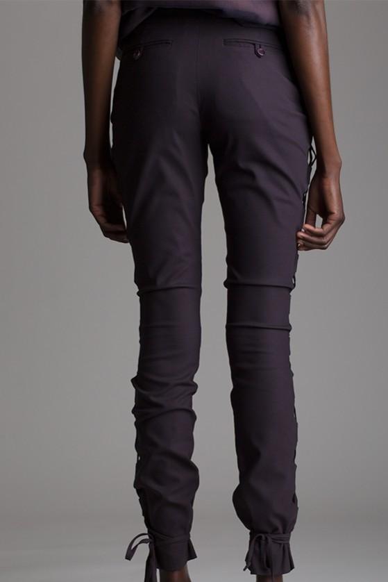 Vintage Helmut Lang Side Lace Pants